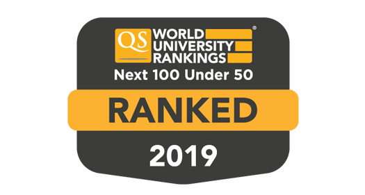 QS Top 50 Under 50 and Next 100 Under 50 rankings 2019 logo