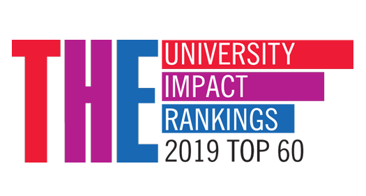 Times Higher Education – University Impact Rankings 2019 Top 60 logo